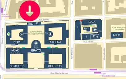 plan BDR_plan Campus_SEG-BM1