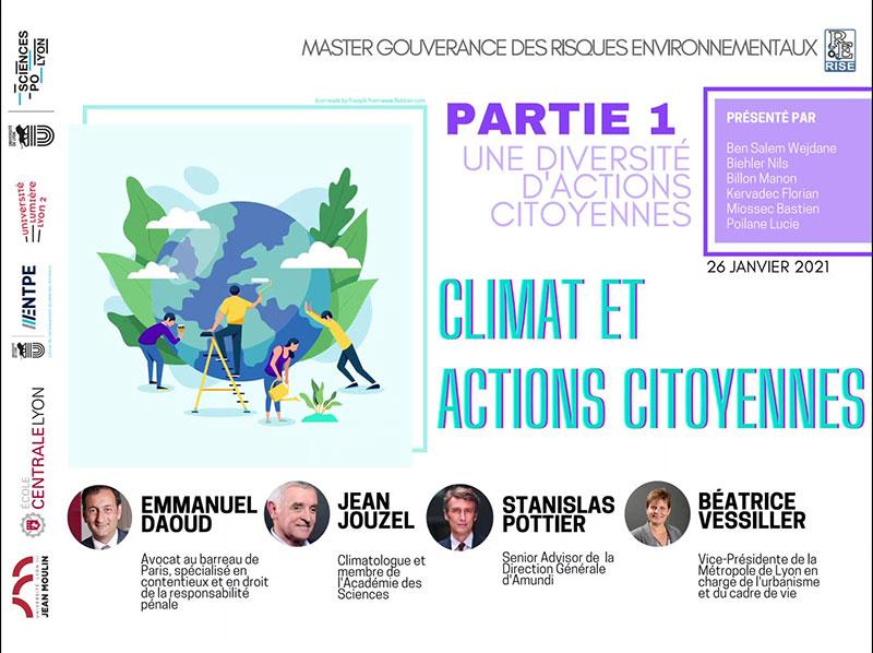 Climat et actions citoyennes